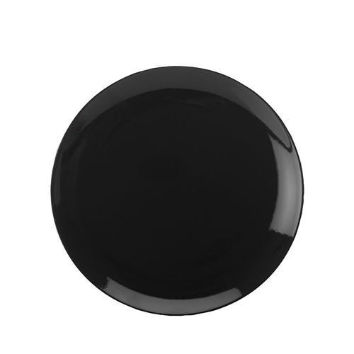 Maxwell & Williams Colour Basics Coupe Dinner Plate 28cm Black