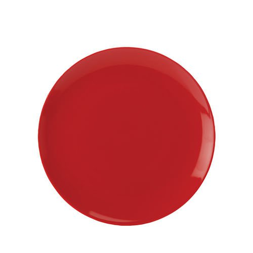 Maxwell & Williams Colour Basics Coupe Dinner Plate 28cm Red