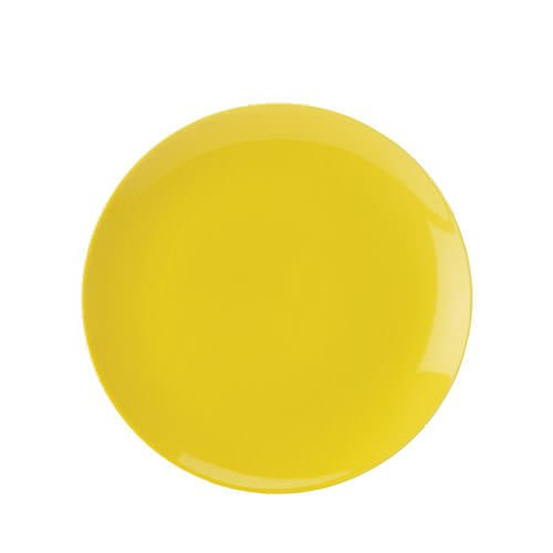 Maxwell & Williams Colour Basics Coupe Dinner Plate 28cm Yellow