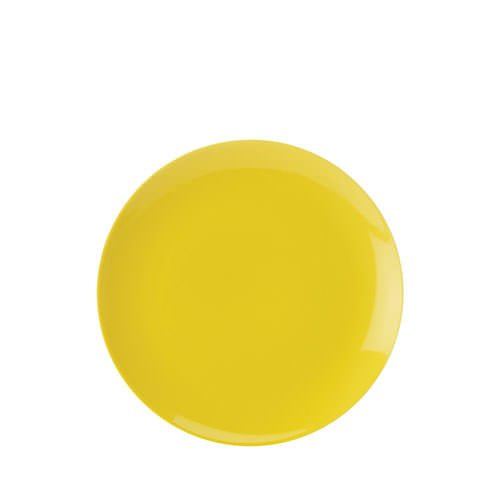 Maxwell & Williams Colour Basics Coupe Side Plate 19cm Yellow
