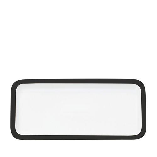 Maxwell & Williams Colour Basics Rectangular Platter 36x18cm Black