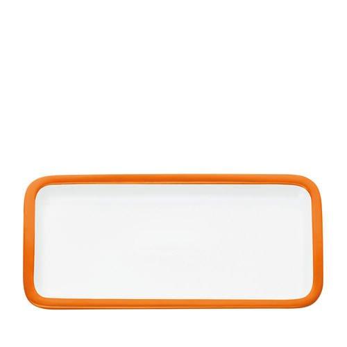 Maxwell & Williams Colour Basics Rectangular Platter 36x18cm Orange
