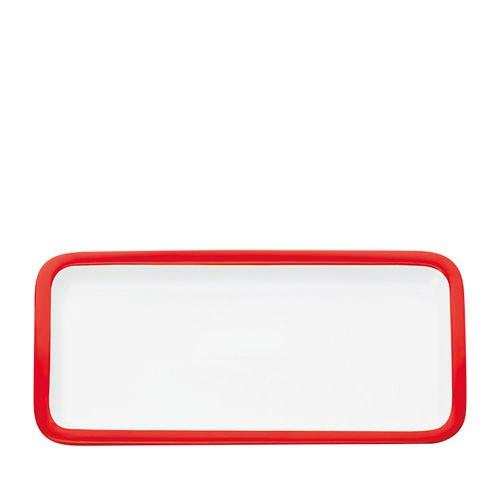 Maxwell & Williams Colour Basics Rectangular Platter 36x18cm Red