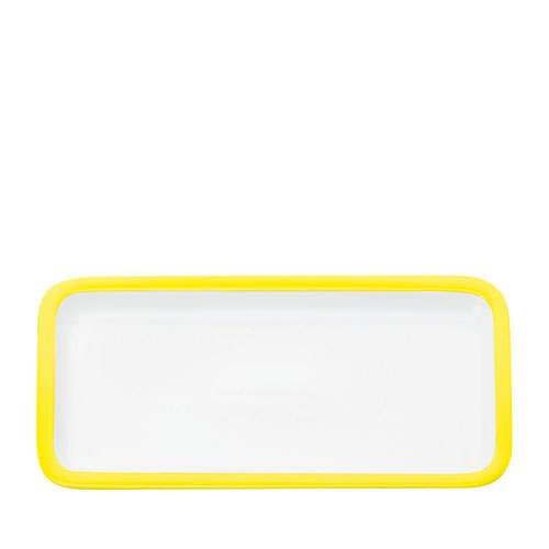 Maxwell & Williams Colour Basics Rectangular Platter 36x18cm Yellow
