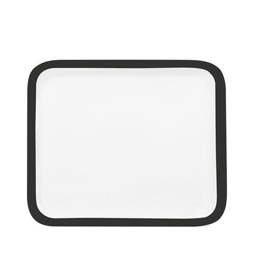 Maxwell & Williams Colour Basics Square Platter 30cm Black