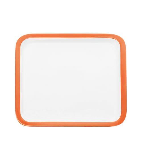 Maxwell & Williams Colour Basics Square Platter 30cm Orange