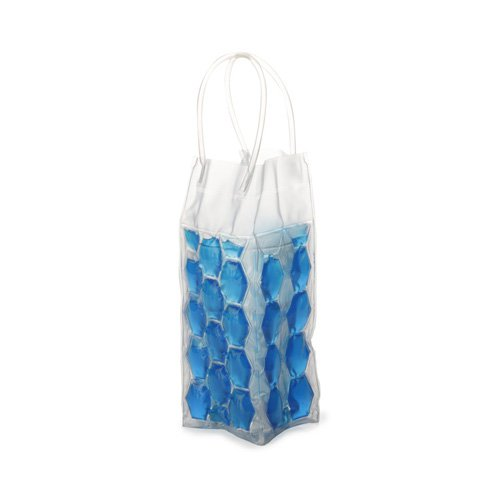 Maxwell & Williams Coolsack Bottle Bag 4 Sided Blue