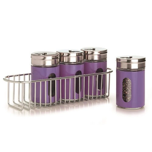 purple kitchen canister sets rare and unusual purple capri kitchen canister set retro
