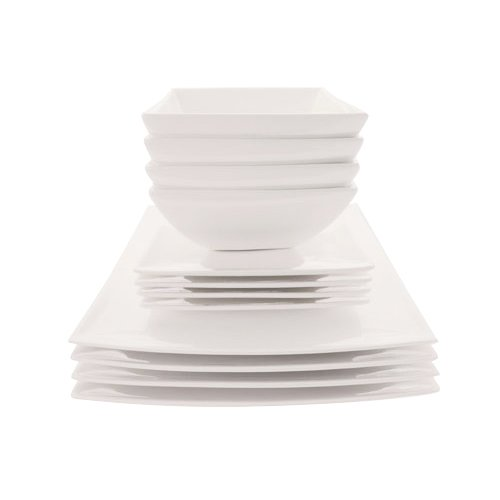 Maxwell & Williams White Basics East Meets West Dinner Set 12pc