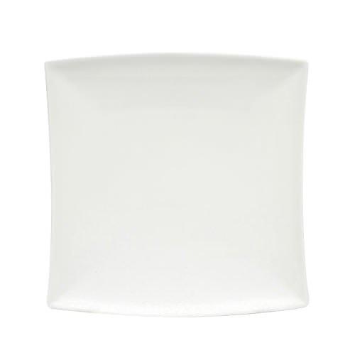 williams white basics east meets west square dinner plate 26cm