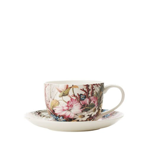 maxwell williams william kilburn coupe cup saucer ocean fantasy 250ml fast shipping. Black Bedroom Furniture Sets. Home Design Ideas