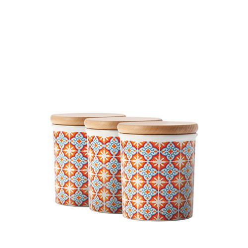 Maxwell & Williams Zagora Canister 500ml Set of 3