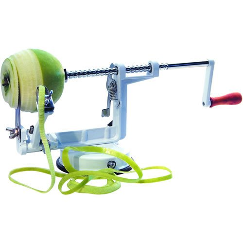 Mondo Apple Corer, Peeler, Slicer Machine Metal & White