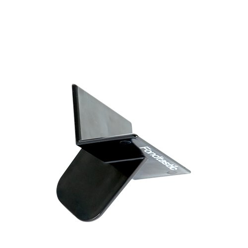 Fondtastic Fondant Sharp Corner Smoother Black