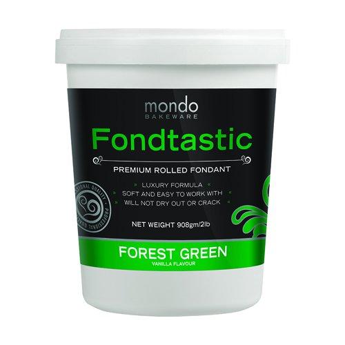 Fondtastic Premium Rolled Fondant Forest Green