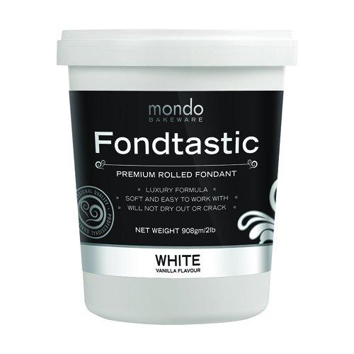 Fondtastic Premium Rolled Fondant White