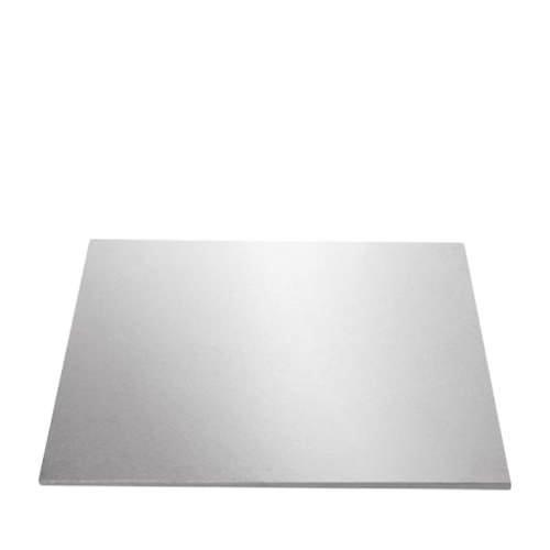 Mondo Square Cake Board 51cm Silver