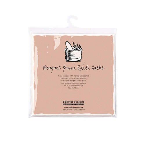 Ogilvies Designs Bouquet Garni Bags Cotton