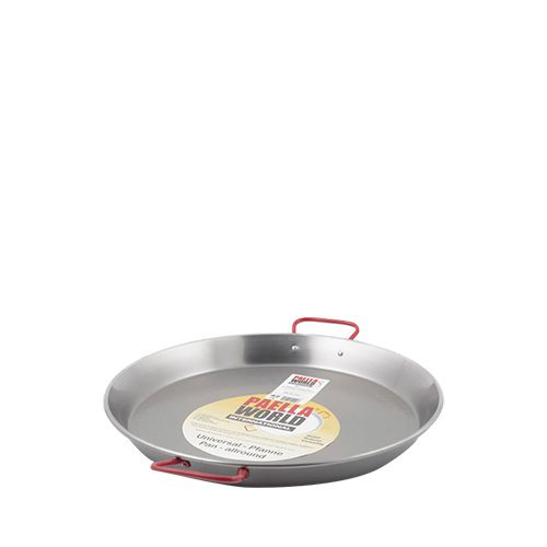 Paella World Paella Pan 28cm High Carbon Polished