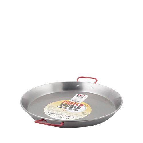 Paella World Paella Pan 38cm High Carbon Polished