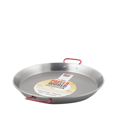 Paella World Paella Pan 42cm High Carbon Polished