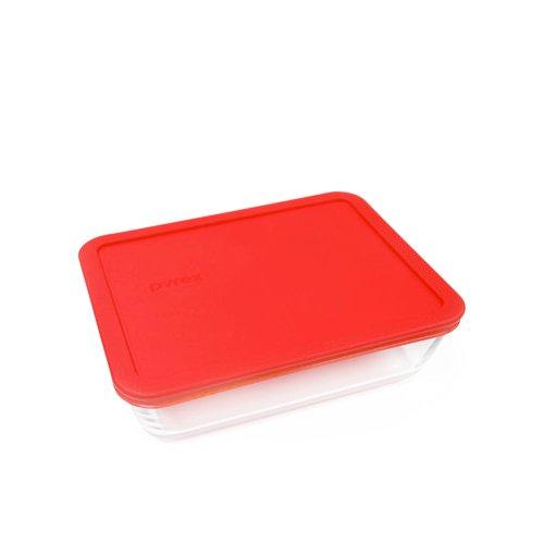 Pyrex Rectangle Storage 750ml Red