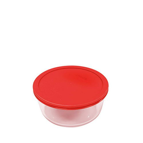 Pyrex Round Storage 250ml Red