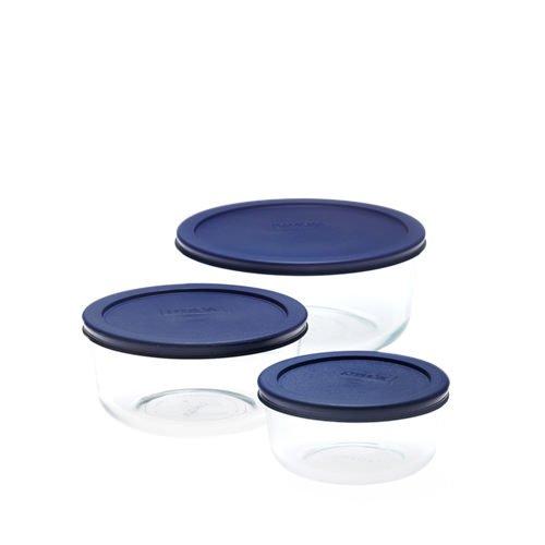 Pyrex Round Storage Plus Set 3pc