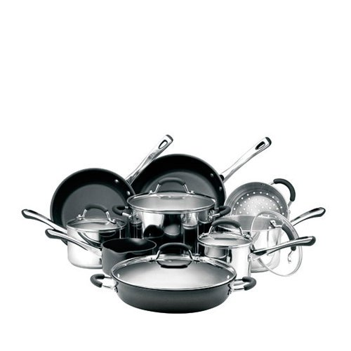 Raco Contemporary 9pc Cookware Set with Risotto Pot