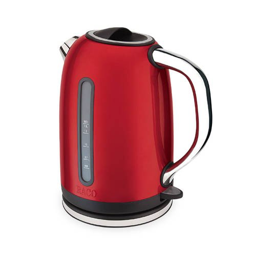 raco deco electric kettle 1 5l red on sale now. Black Bedroom Furniture Sets. Home Design Ideas