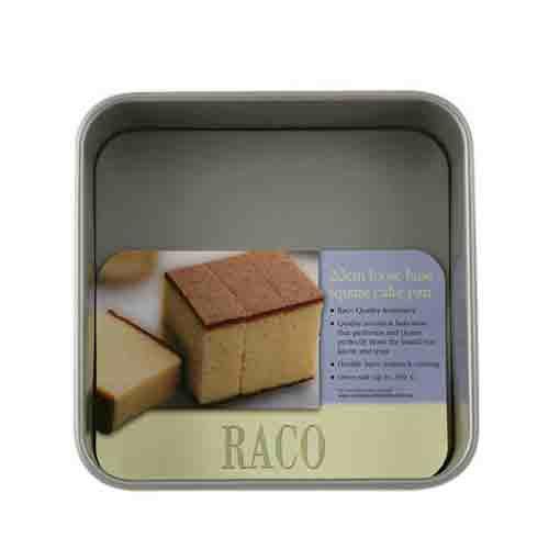 Raco Loose Base Square Cake Pan 20cm