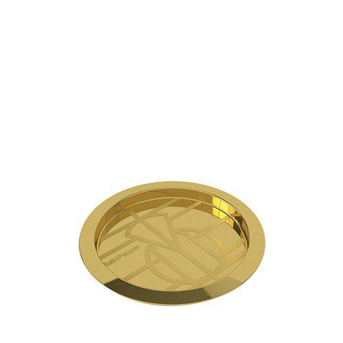 Salt & Pepper Barcart Wine Bottle Coaster Golden