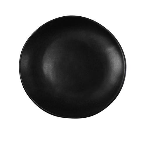 Santo Alessi Organics Dinner Plate 27.5cm Satin Black
