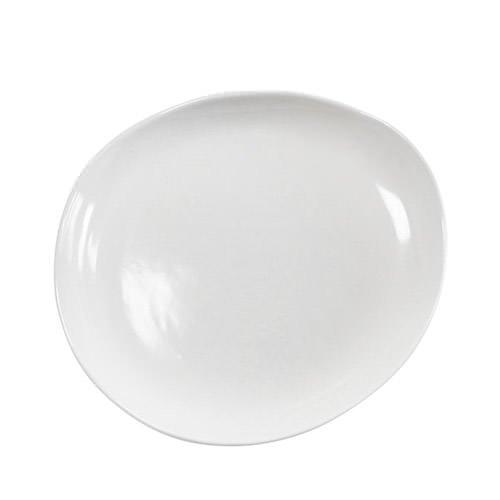 Santo Alessi Organics Risotto Plate 28cm Satin White