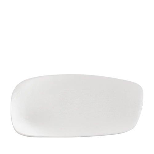 Santo Alessi Organics Tapas Plate 33x16cm Satin White