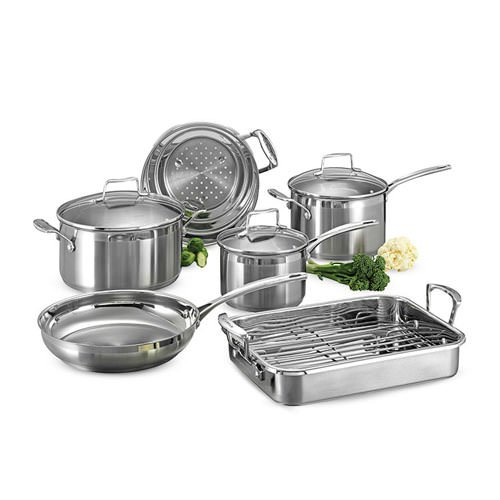 New Scanpan Impact 6pc Cookware Set W Roaster Rrp 699 Ebay