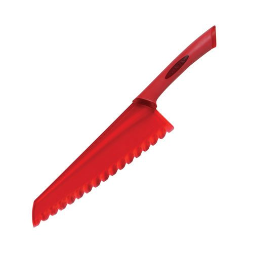 Scanpan Spectrum Soft Touch Salad Knife Red