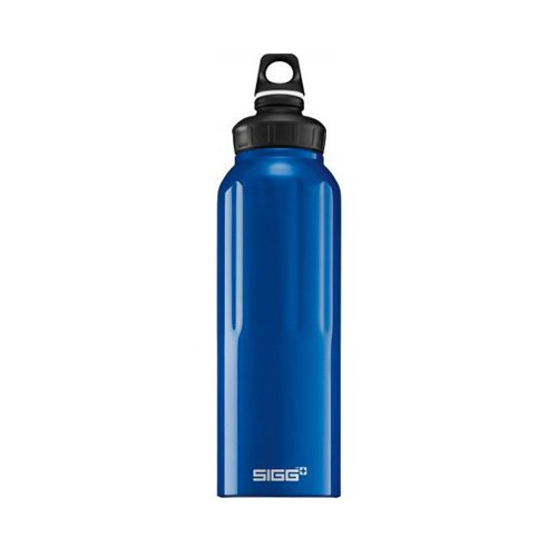 Sigg Wide Mouth Traveller Water Bottle 1.5L Dark Blue