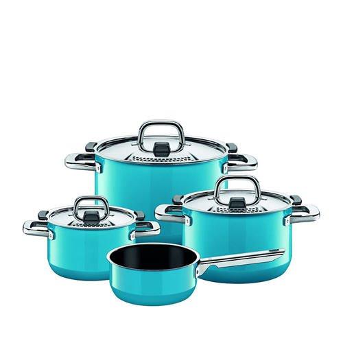 Silit 4pc Cookware Set Mountain Blue