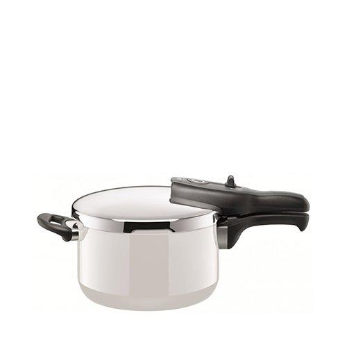 Silit Sicomatic T-Plus Pressure Cooker 4.5L White
