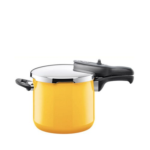 Silit Sicomatic T-Plus Pressure Cooker 6.5L Crazy yellow