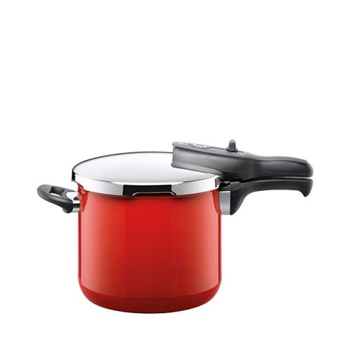 Silit Sicomatic T-Plus Pressure Cooker 6.5L Energy Red