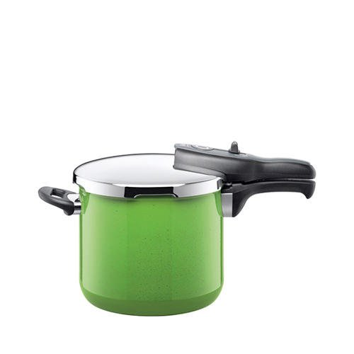 Silit Sicomatic T-Plus Pressure Cooker 6.5L Lemon Green