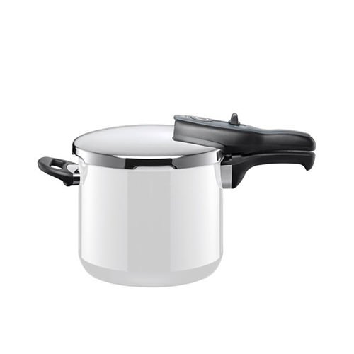 Silit Sicomatic T-Plus Pressure Cooker 6.5L Polar White