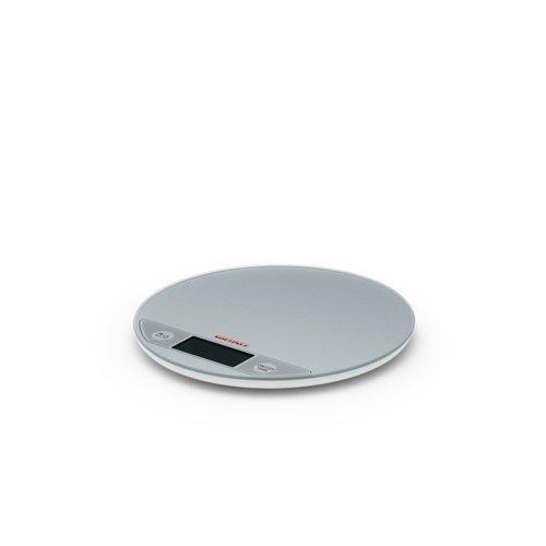 Soehnle Flip Round Digital Scale Silver