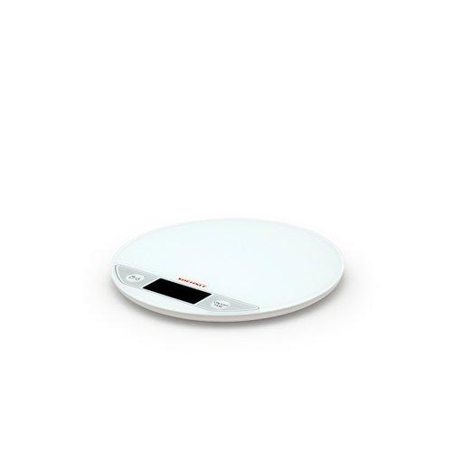 Soehnle Flip Round Digital Scale White