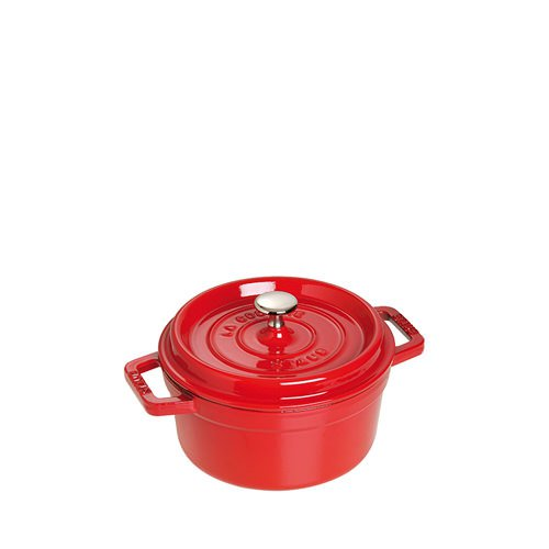 Staub Round Mini Cocotte 10cm Cherry Red