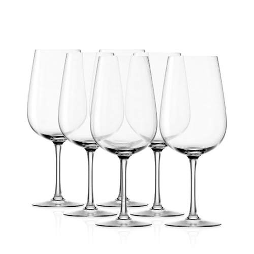 Stolzle Grandezza Bordeaux Wine Glass 655mL Set of 6