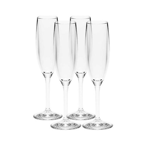 Strahl Design+Contemporary Champagne Flute 166ml Set of 4