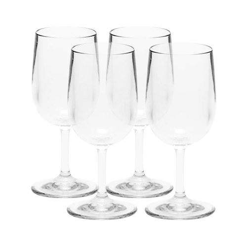 Strahl Design+Contemporary Classic Small Wine Glass 245ml Set of 4